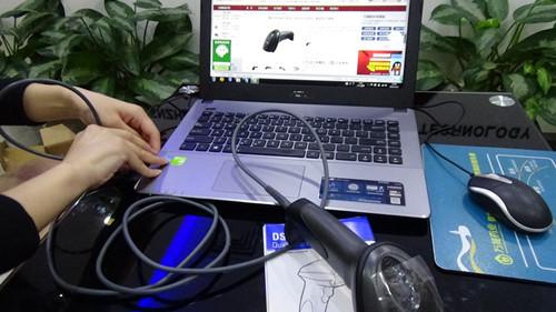 摩托罗拉DS6708-连接电脑