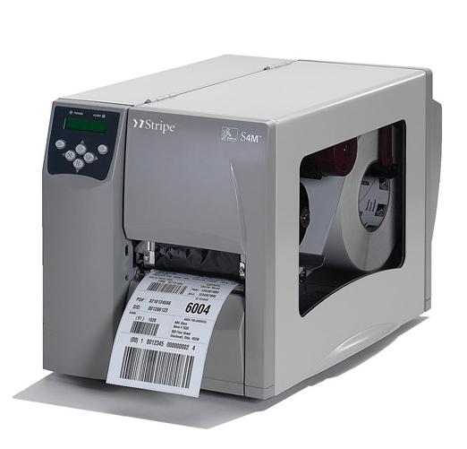 斑马Zebra S4M工商用条码打印机